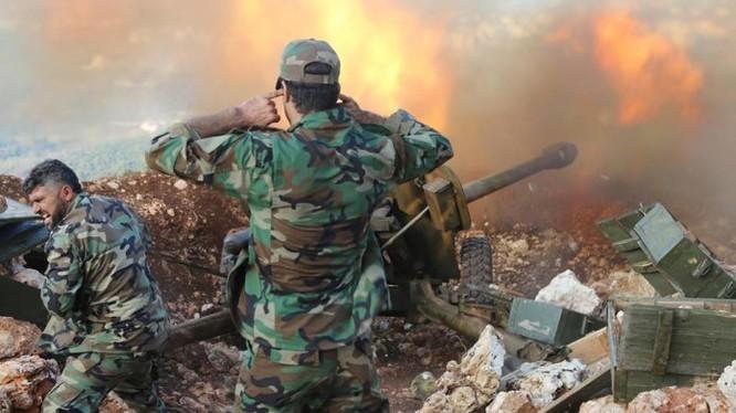 Lực lượng Diều hâu Sa mạc chiến đấu ở Latakia
