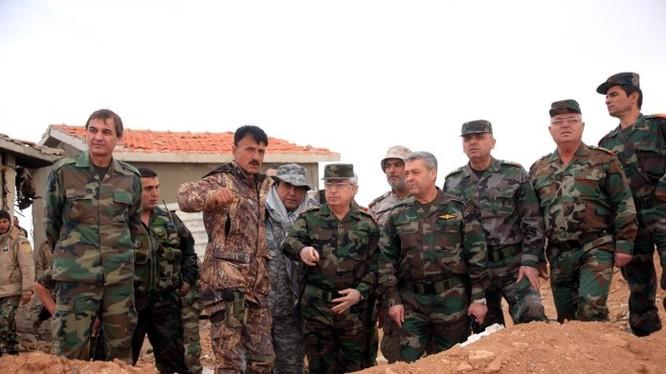 Thiếu tướng Suheil al-Hassan, chỉ huy lực lương Tigers