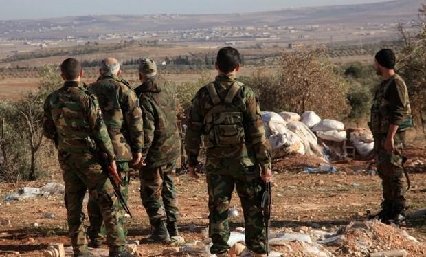 Không gian chiến trường trống trải ở Aleppo