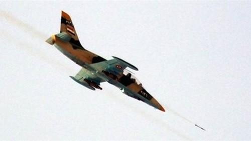 Không quân Syria tấn công