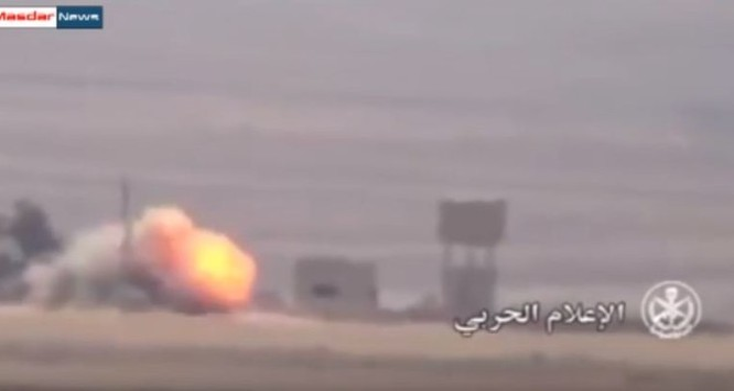 Vụ phục kích bằng mìn gài vệ đường của quân đội Syria
