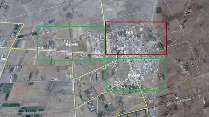 Bản đồ khu vực thị trấn Maydaa