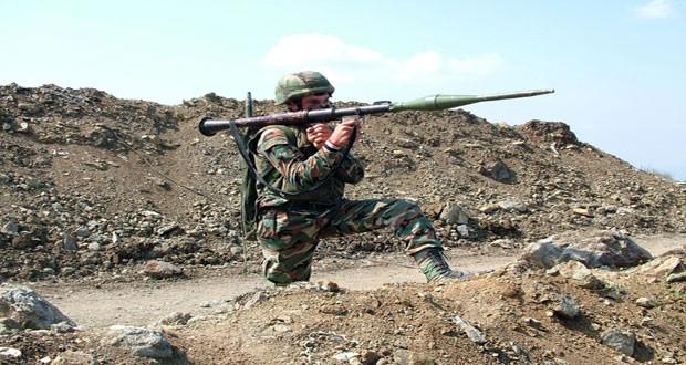 Binh sĩ Syria chiến đấu trên chiến trường Maydaa