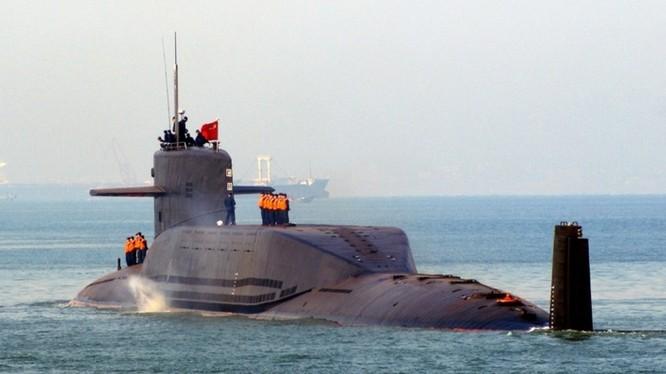 Tàu ngầm hạt nhân lớp Tấn của hải quân Trung Quốc