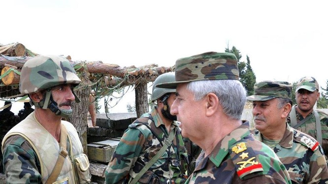 Trung tướng Ali Abdullah Ayyoub, tổng tham mưu trưởng quân đội Syria