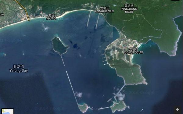 Căn cứ tàu ngầm nguyên tử trên đảo Hải Nam