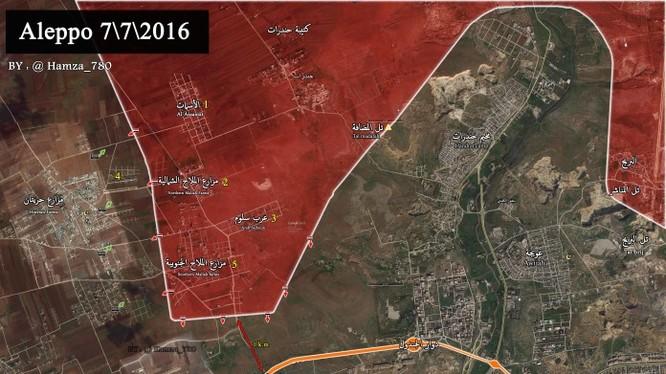 Bản đồ tình hình chiến sự Mallah