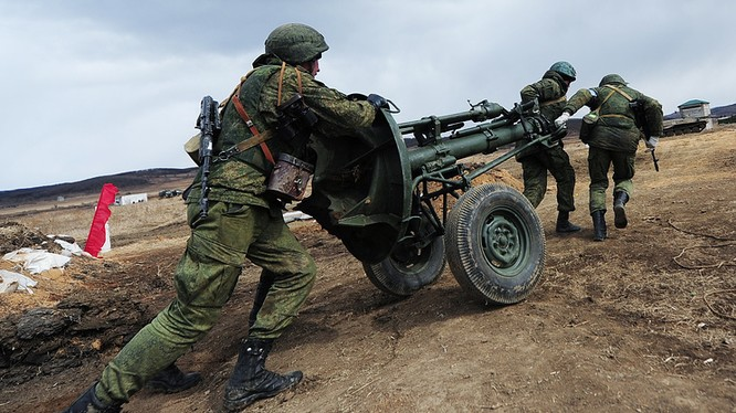 Một hoạt động diễn tập trong Hội thao quân sự quốc tế tại Nga