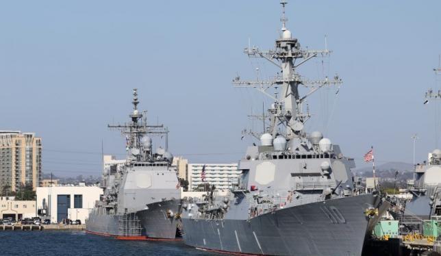 Các chiến hạm của Hải quân Úc