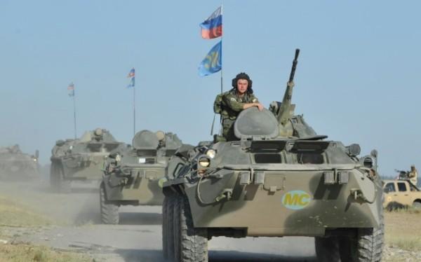 Quân đội Nga phối hơp cùng lực lượng vũ trang Tajikistan trong diễn tập