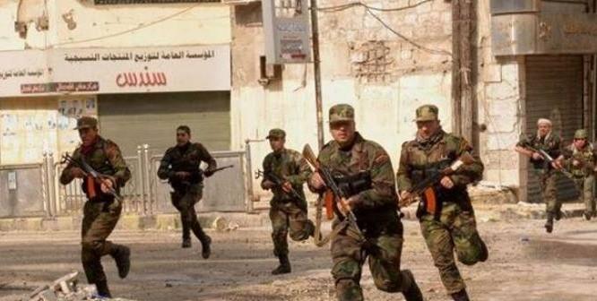 Quân đội Syria chiến đấu trong chiến trường Aleppo