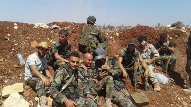 Các binh sĩ lực lượng Tigers