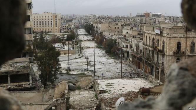 Thành phố Aleppo trong cuộc chiến tranh đường phố