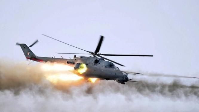 Máy bay Mi-24 không quân Syria