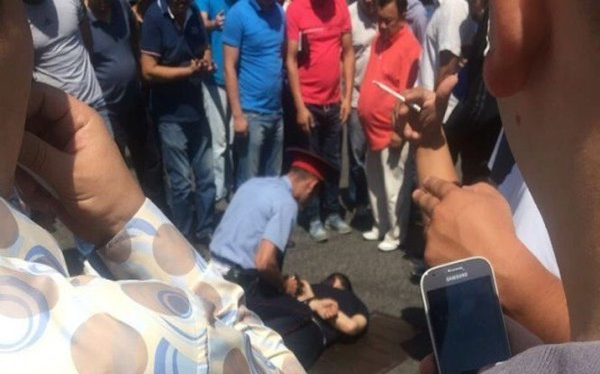 Cảnh sát Bộ Nội vụ Kazakhstan bắt kẻ khủng bố