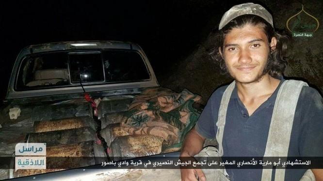 Chiến binh Hồi giáo cực đoan Jabhat Al-Nusra đánh bom tự sát