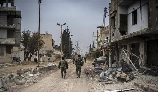 Các binh sĩ Syria trong khu vực al-Lairamoun Bắc Aleppo