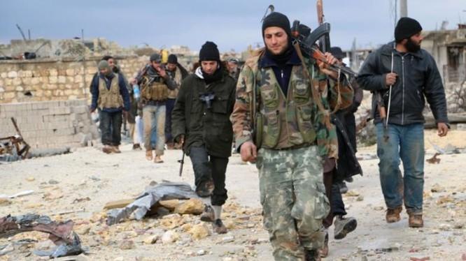 Nhóm chiến binh khủng bố Al-Nusra ở Latakia