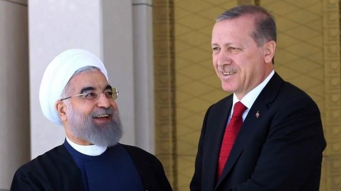 Tổng thống Thổ Nhĩ Kỳ và Tổng thống Iran