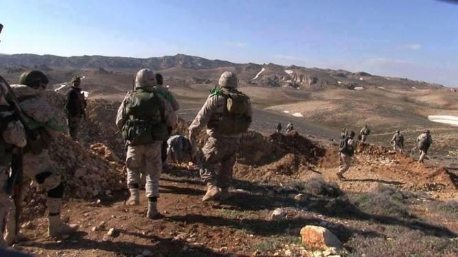 Các binh sĩ lực lượng Hezzbollah