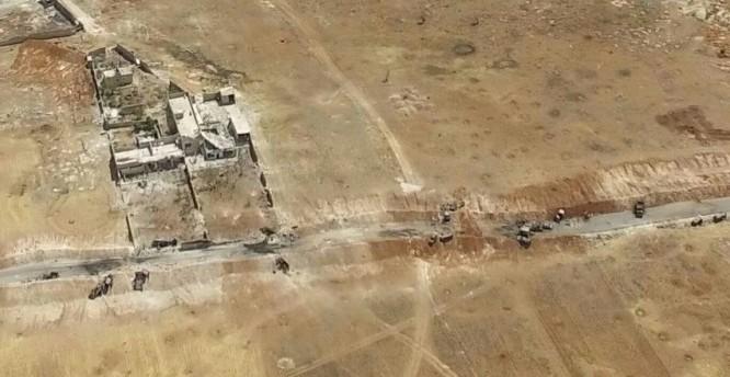 Quang canh một số trang thiết bị quân sự của lực lượng Hồi giáo cực đoan bị tiêu diệt ở Aleppo