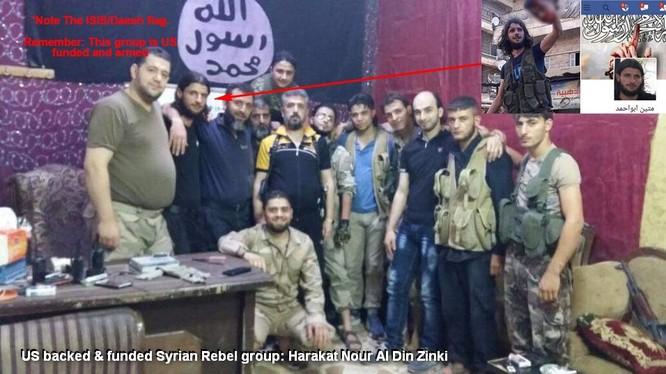 Chiến binh Hồi giáo cực đoan, kẻ đã hành quyết em bé Paletstine