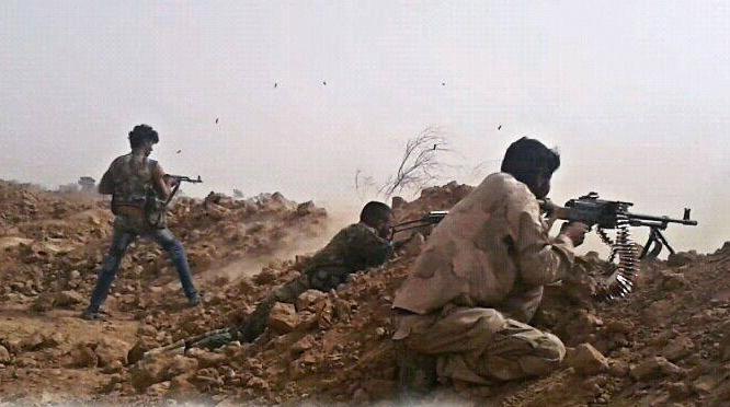 Chiến binh IS tấn công