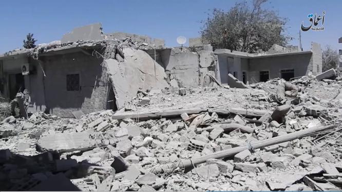 Thành phố Manbij hoang tàn trong cuộc chiến tranh