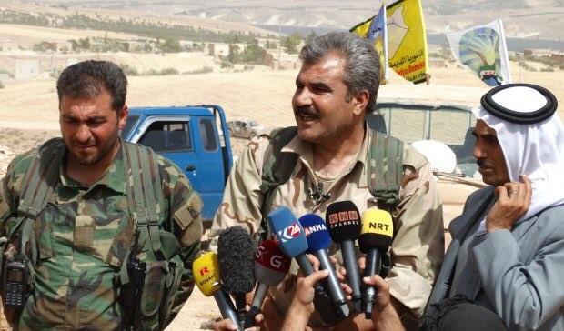 Lực lượng Dân chủ Syria SDF trên chiến trường thành phố Manbij