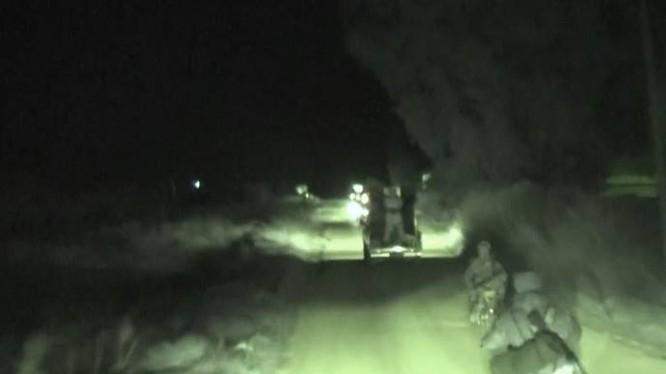 Quân đội Syria tiến về làng Hirbnafseh