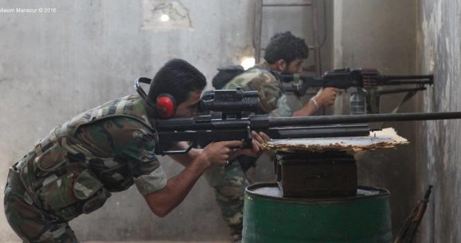 Các xạ thủ súng bắn tỉa trong quận Bani Zaid