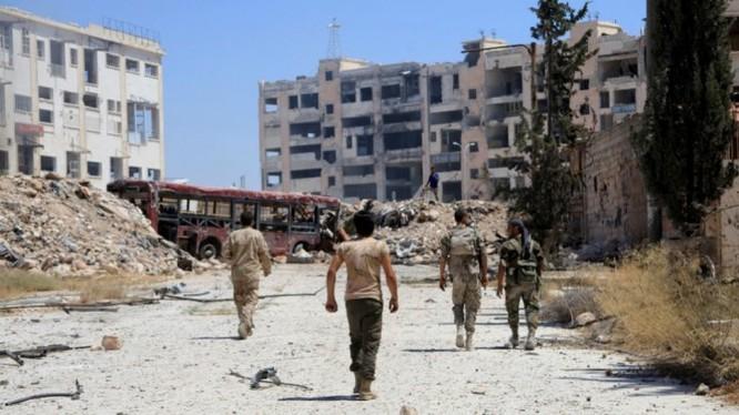 Hành lang an toàn dành cho người dân thoát khỏi khu phố do lực lượng Hồi giáo cực đoan chiếm giữ