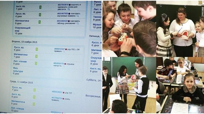 Trường học ở nước Nga