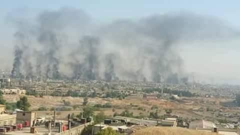 Giao chiến ác liệt trên ngoại ô thủ đô Damascus, khu vực Đông Ghouta