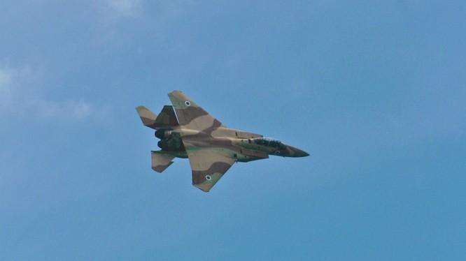 Máy bay israel (ảnh minh họa)