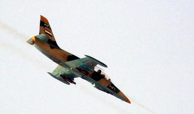 Không quân Syria tấn công (ảnh minh họa)