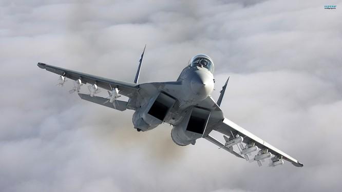 Máy bay Su- 30SM Nga cất cánh từ sân bay Hmeymim