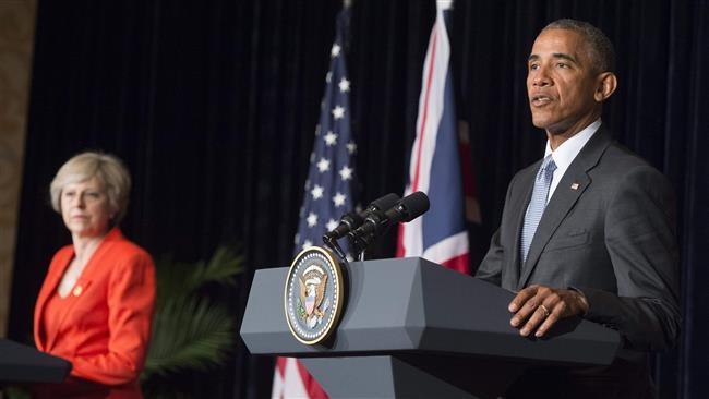 Tổng thống Obama phát biểu trong buổi họp báo chung tại Hàng Châu, Trung Quốc