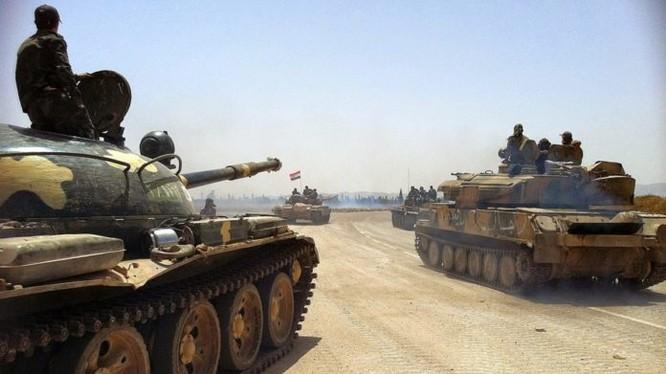 Xe tăng quân đội Syria (ảnh minh họa)