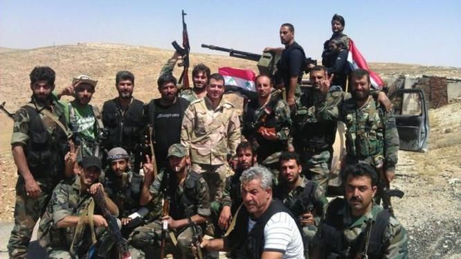 Lực lượng NDF trên chiến trường tỉnh Homs