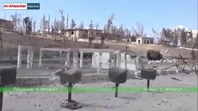 Toàn cảnh Học viện pháo binh Aleppo sau những trận chiến ác liệt