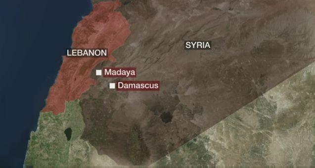 Thành phố Madaya Syria