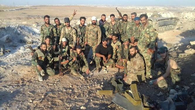 Binh sĩ lực lượng Tigers trên chiến trường Aleppo