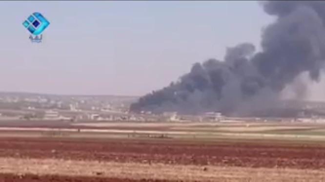 Không quân Nga không kích IS trên tỉnh Homs