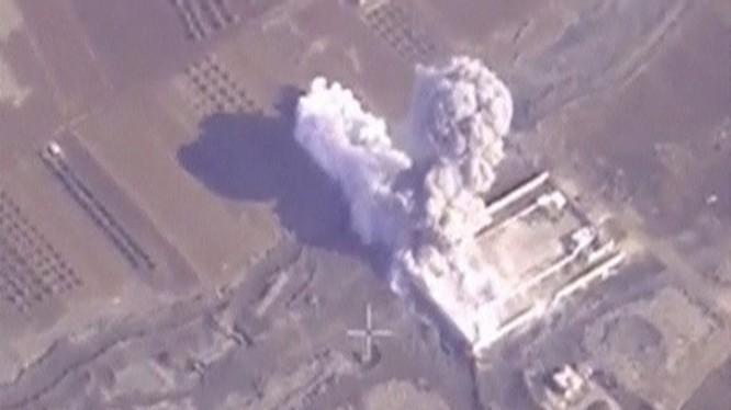 Một vụ không kích của Không quân Nga