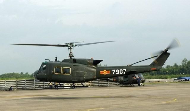 Trực thăng UH -1 Không quân Việt Nam