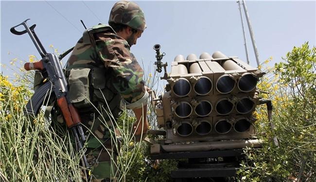 Binh sĩ Syria trên chiến trường Hama