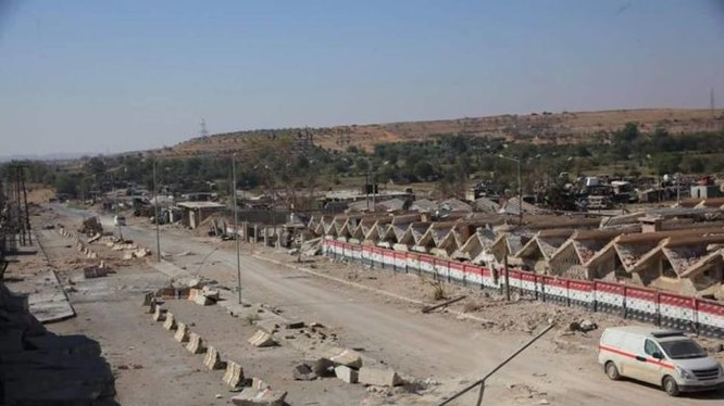 Tuyễn đường quốc lộ Ramousah đã thông đường