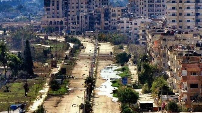 Quận Al-Wa'er thuộc thành phố Homs