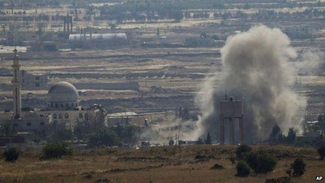 Giao chiến ác liệt trên cao nguyên Golan